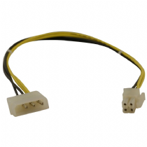 Molex to 4 Pin Square P4/64 Bit Power Connector Cable